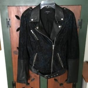 Muubaa Floral Biker Jacket